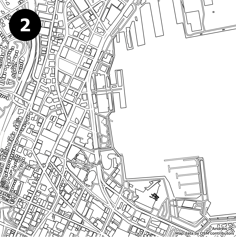 Identify The City From The Blank Street Map: Kiwi Edition