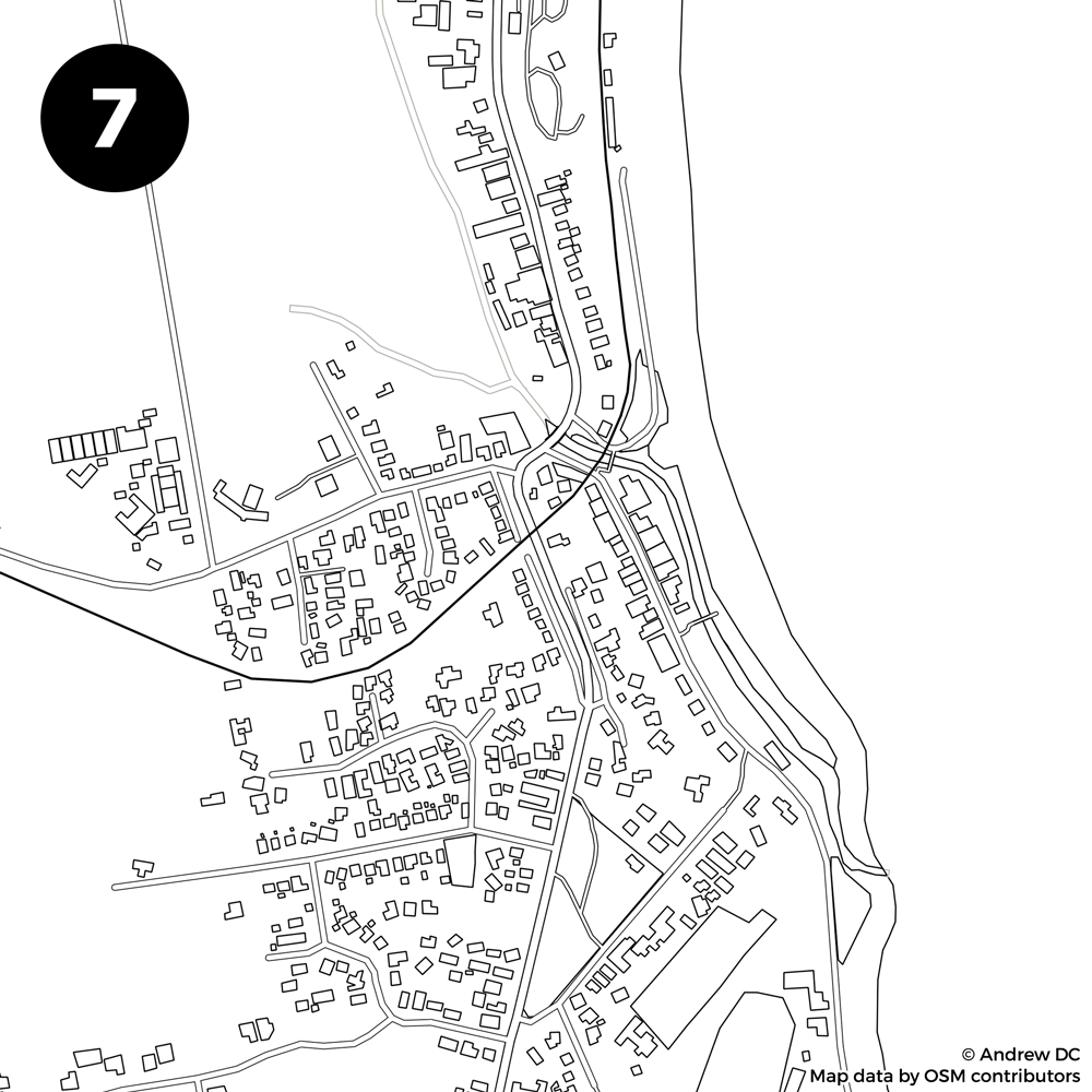 Identify The City From The Blank Street Map Kiwi Edition
