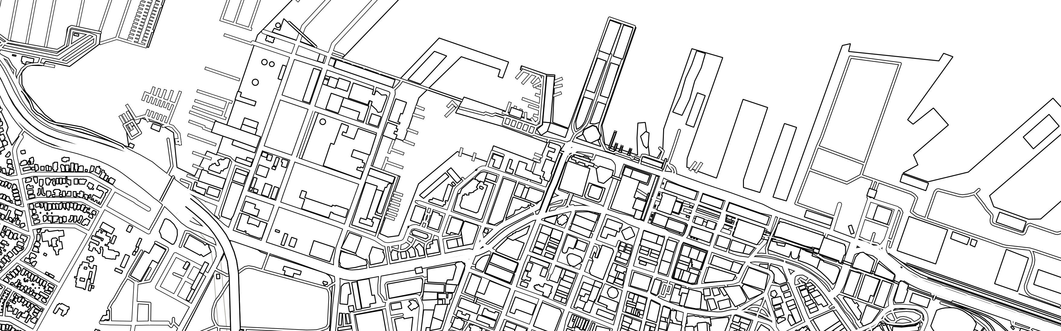 Identify the city from the blank street map Kiwi Edition The Map