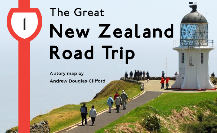 Travel Map New Zealand.The Great New Zealand Road Trip Story Map The Map Kiwi