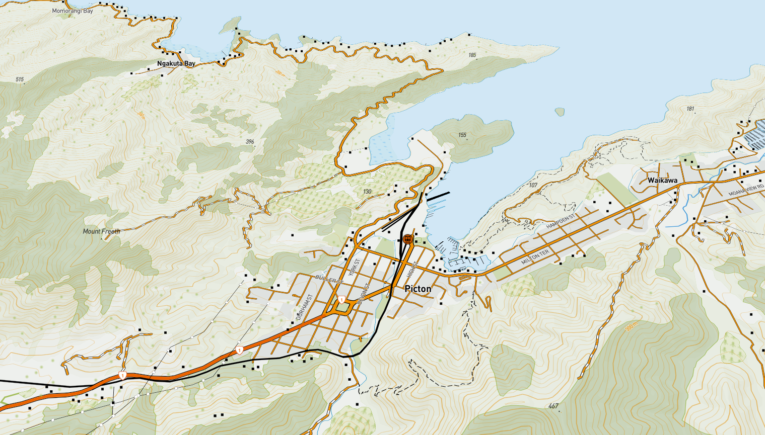 NZ Topo Web Map | The Map Kiwi
