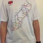 South Island Metro Map T-Shirt