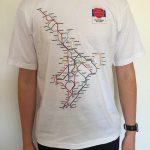 North Island Metro Map T-Shirt