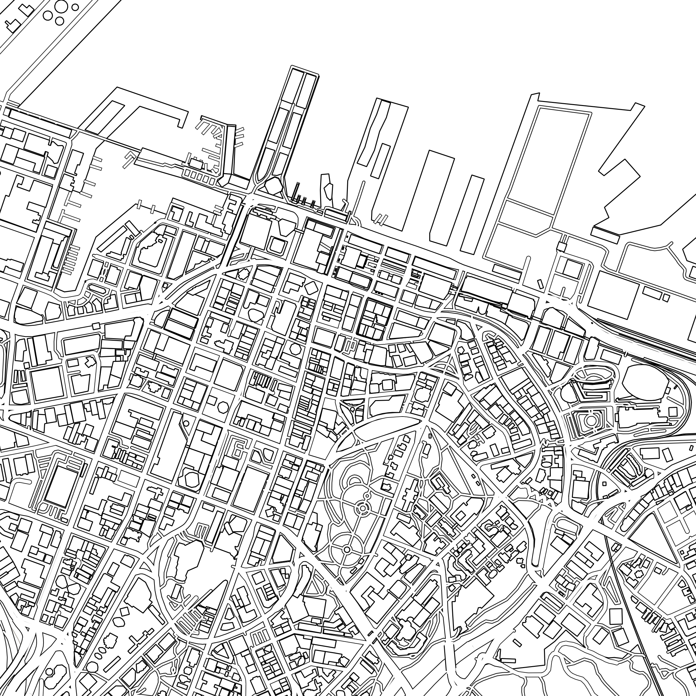 NZ City Colouring Maps