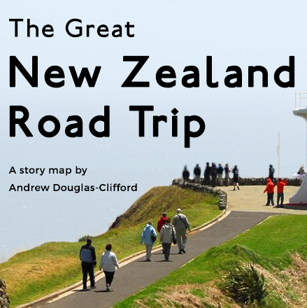 The Great New Zealand Road Trip – Story Map