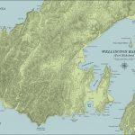 Wellington Harbour Map
