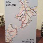NZ Metro Map Postcard (Singles)