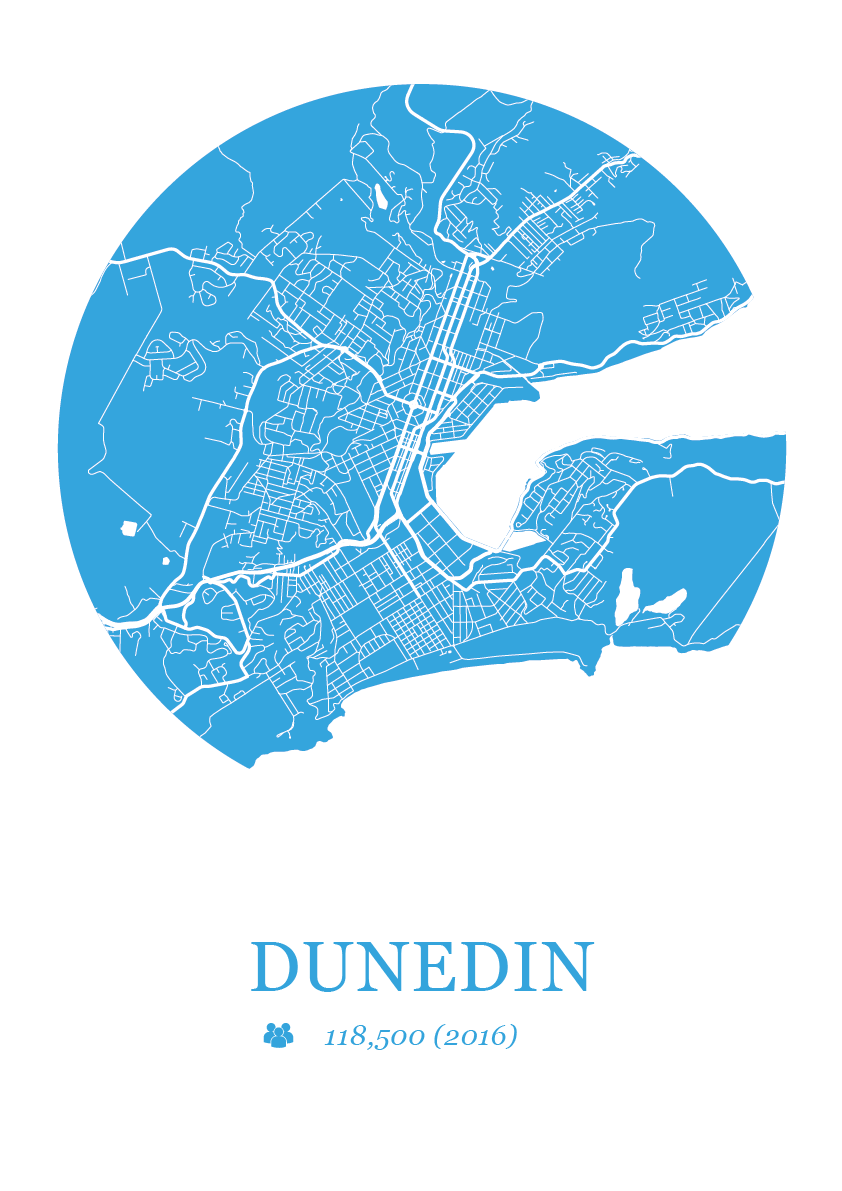 Dunedin Map Dot
