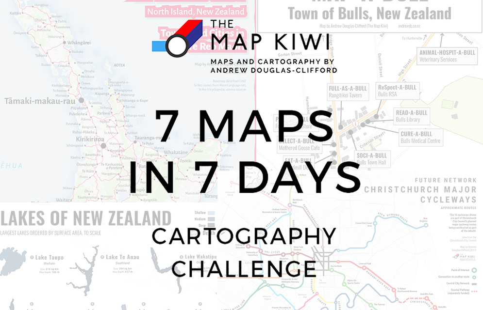 7 Day Cartography Challenge: A Recap
