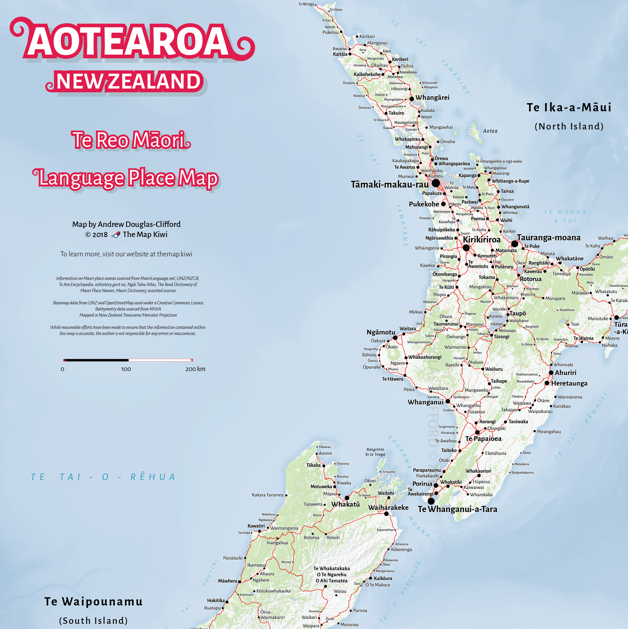 Printable Map Of South Island New Zealand.Portfolio The Map Kiwi