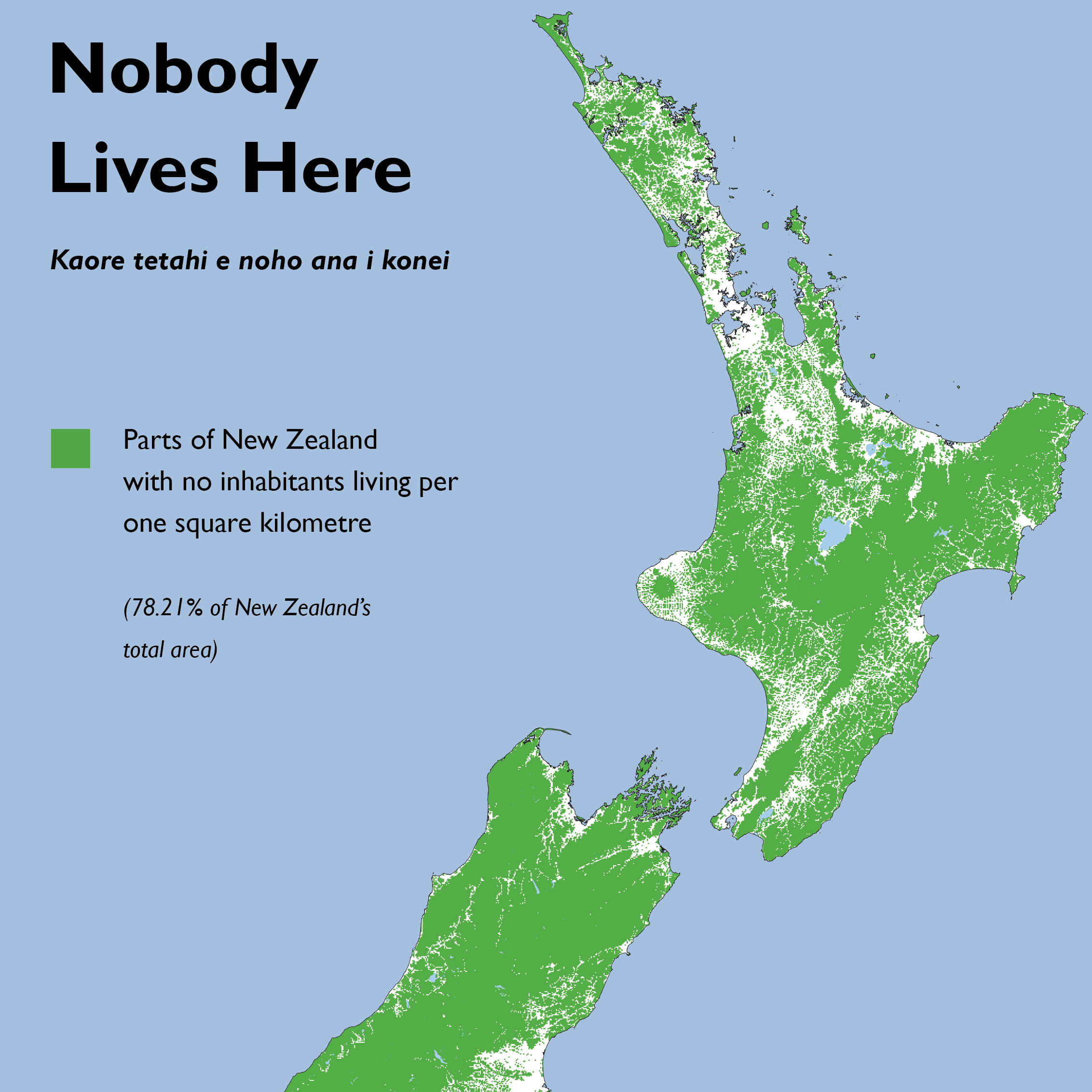 Nobody Lives Here: Uninhabited Areas of New Zealand