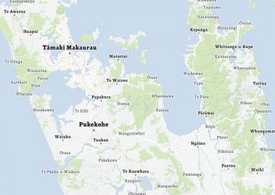 Te Reo Māori Web Map