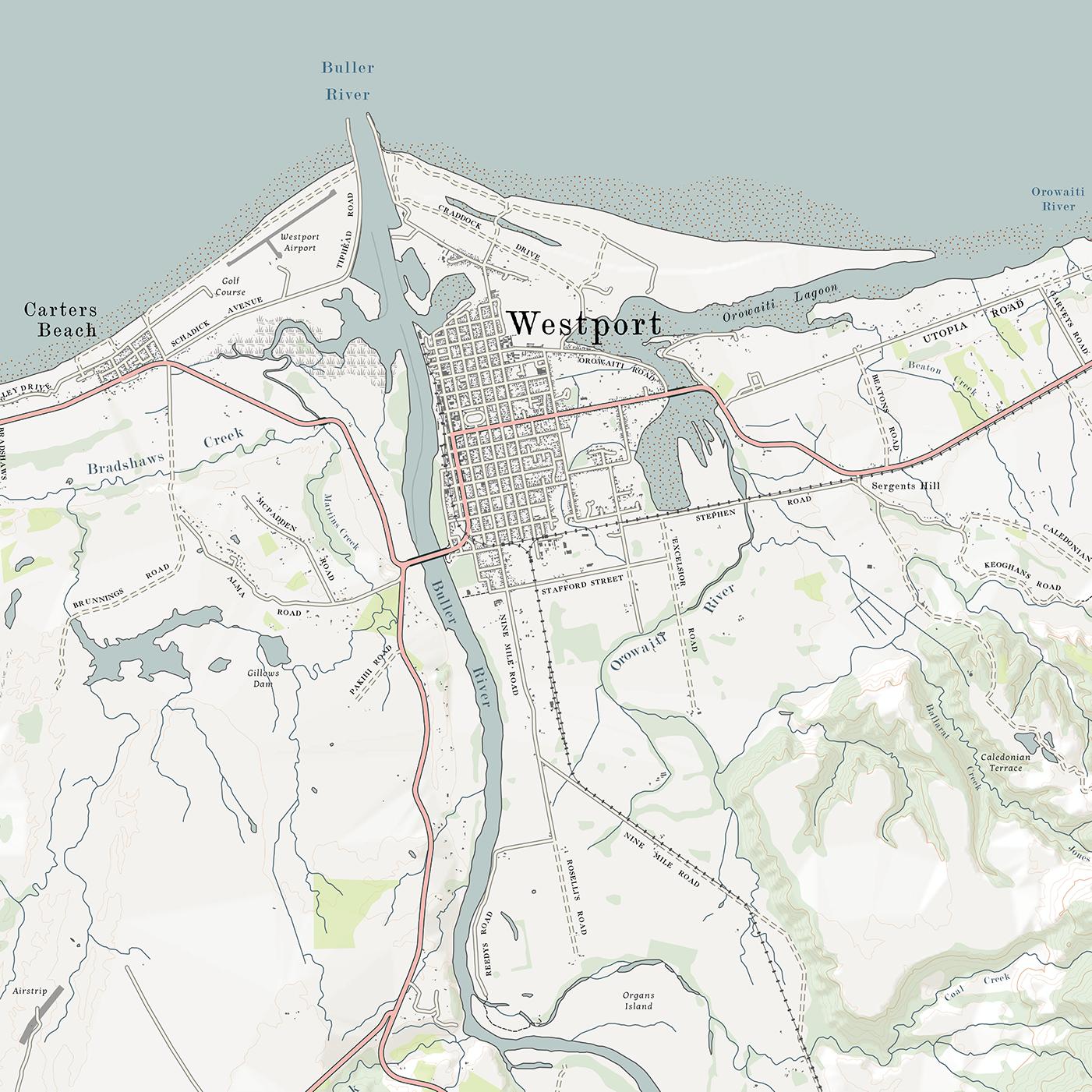 Westport District Map