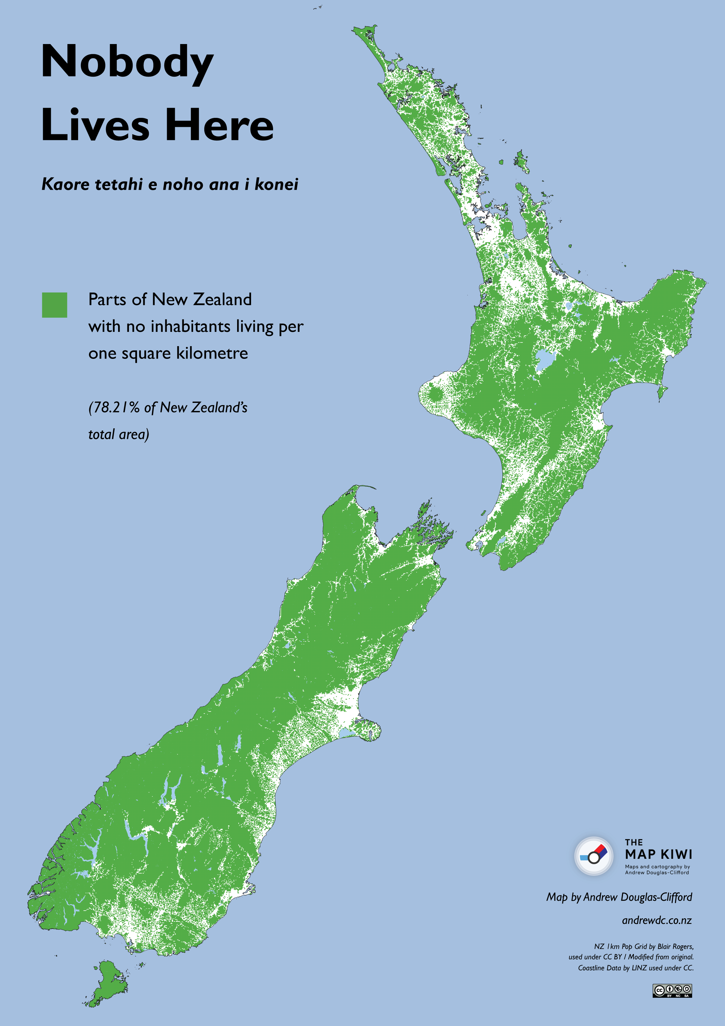Download New Zealand Map.Nobody Lives Here Uninhabited Areas Of New Zealand The Map Kiwi