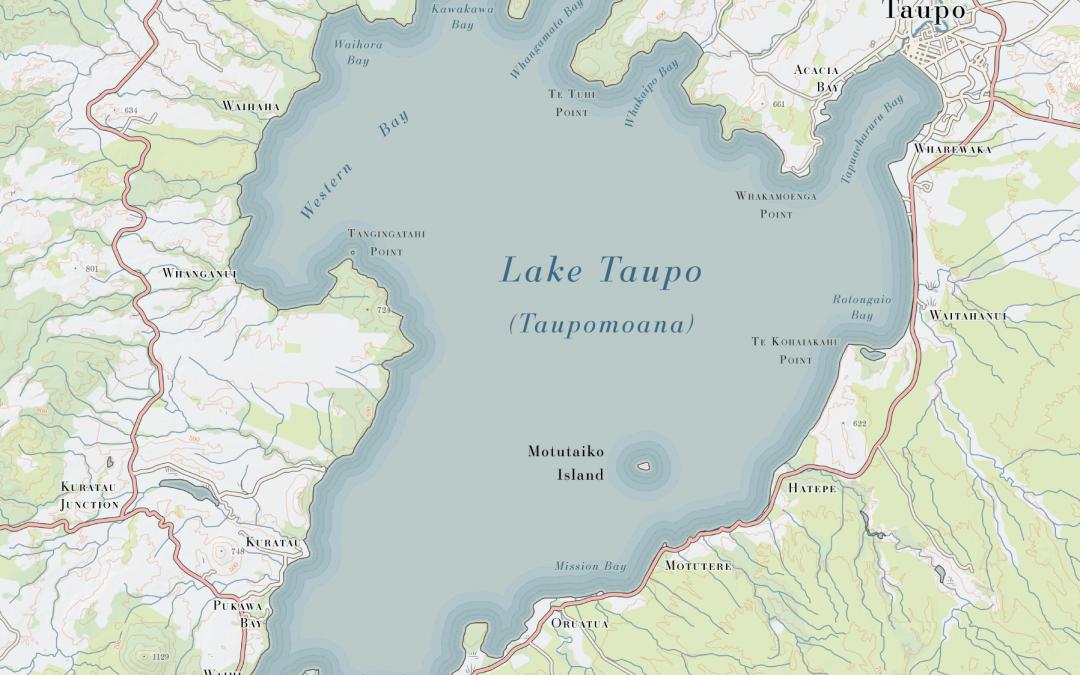 Lake Taupo Print