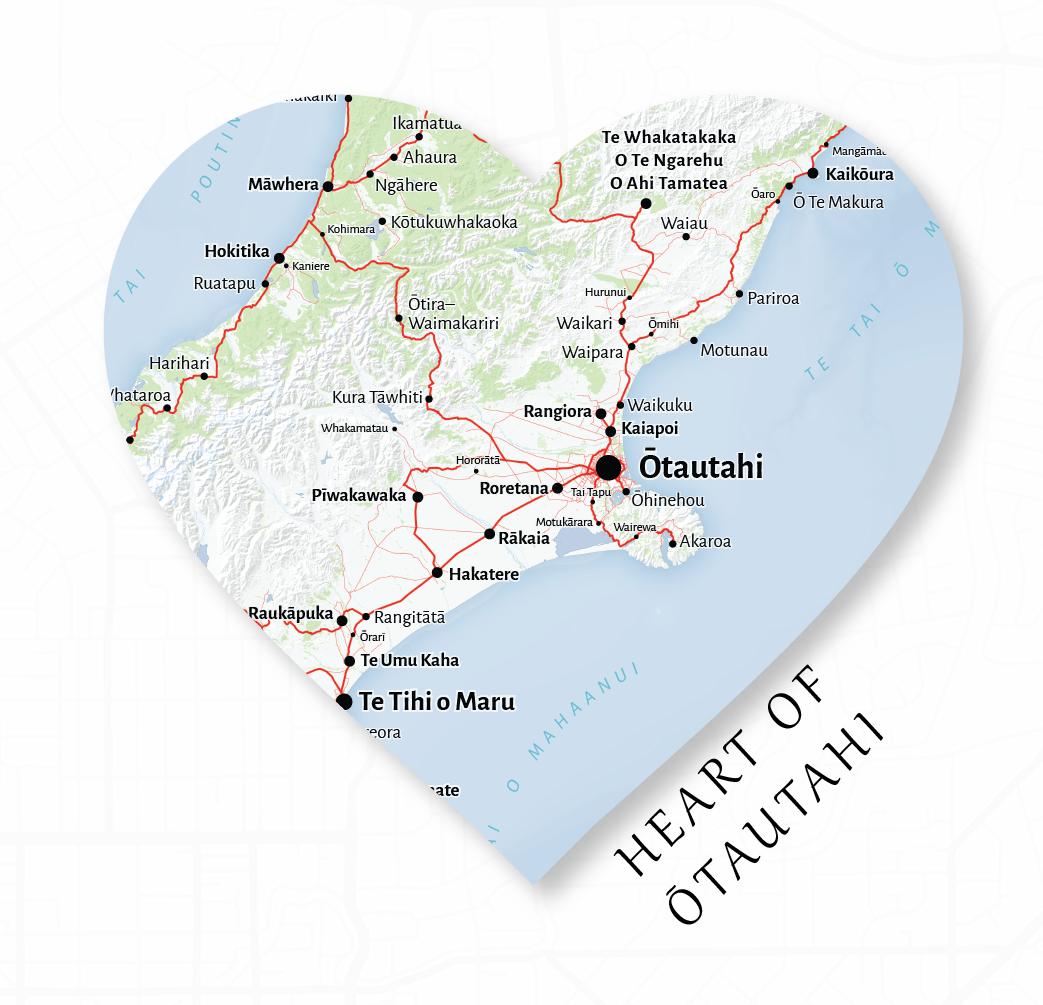 Heart of Otautahi Product