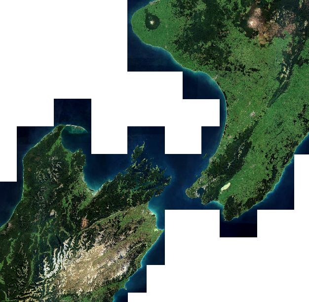 Behind the Map: Putting Together a Satellite Basemap | The Map Kiwi