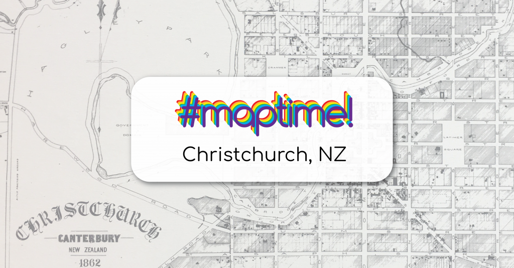 MapTime Christchurch Logo