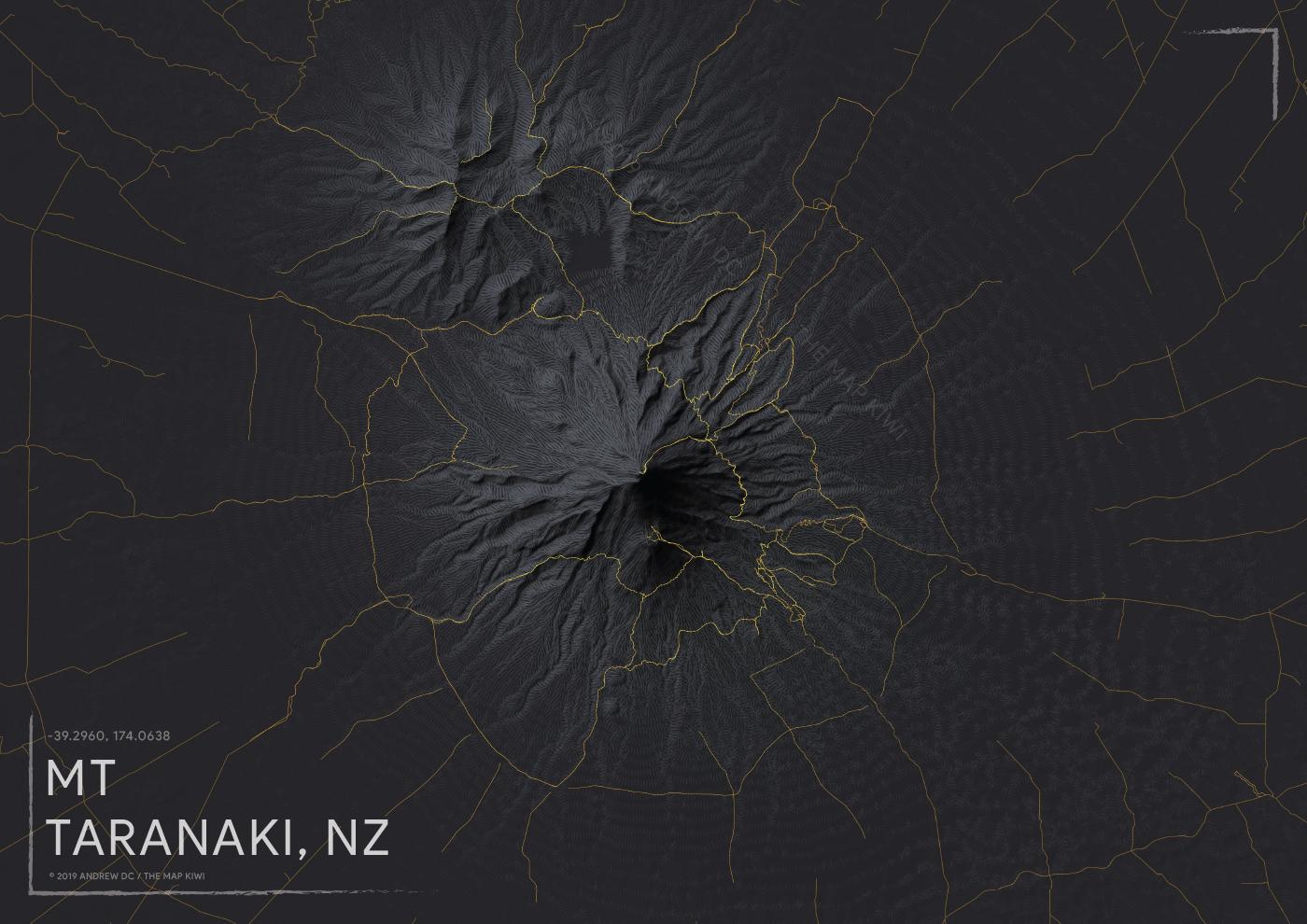 Mount Taranaki Terrain
