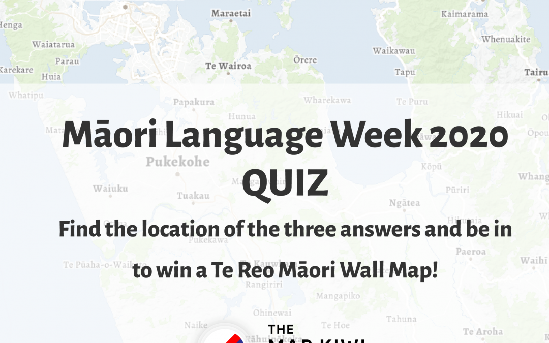 Māori Language Week 2020 Quiz – Find the answers and be in to win!