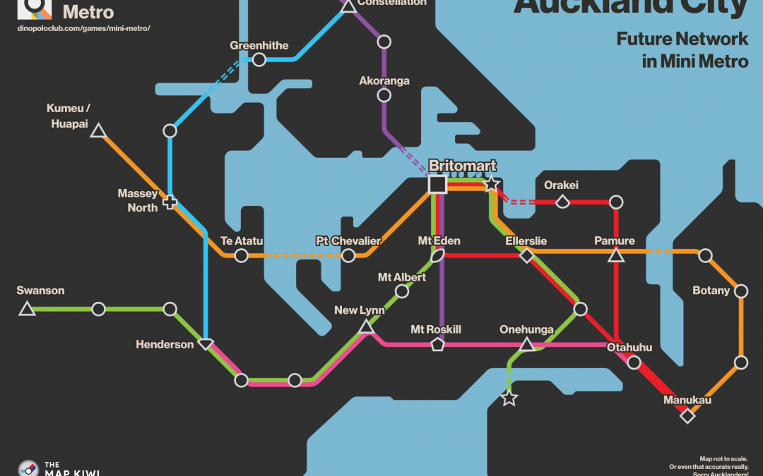 Auckland Future Mini Metro Network