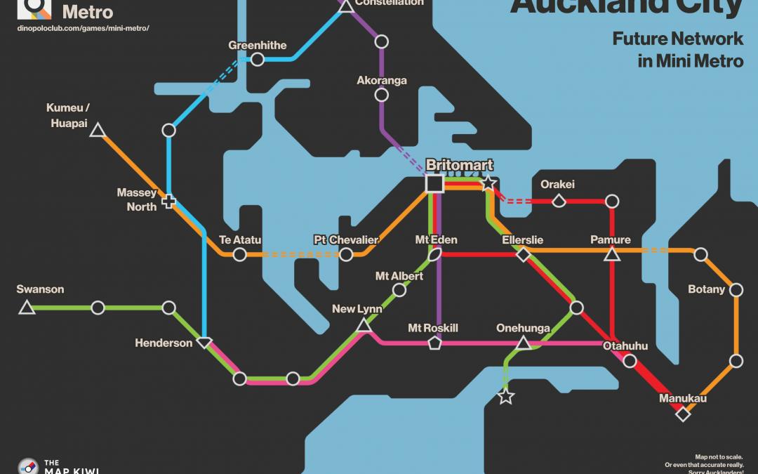 Auckland Future Mini Metro Network