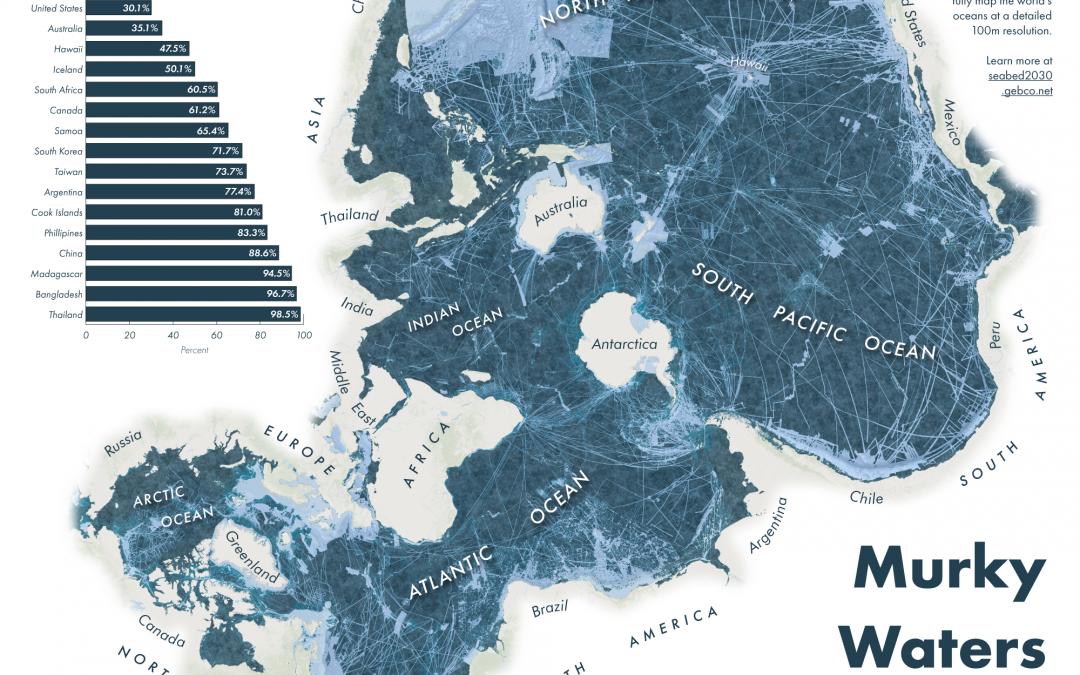 Murky Waters: Unmapped Areas of Seafloor