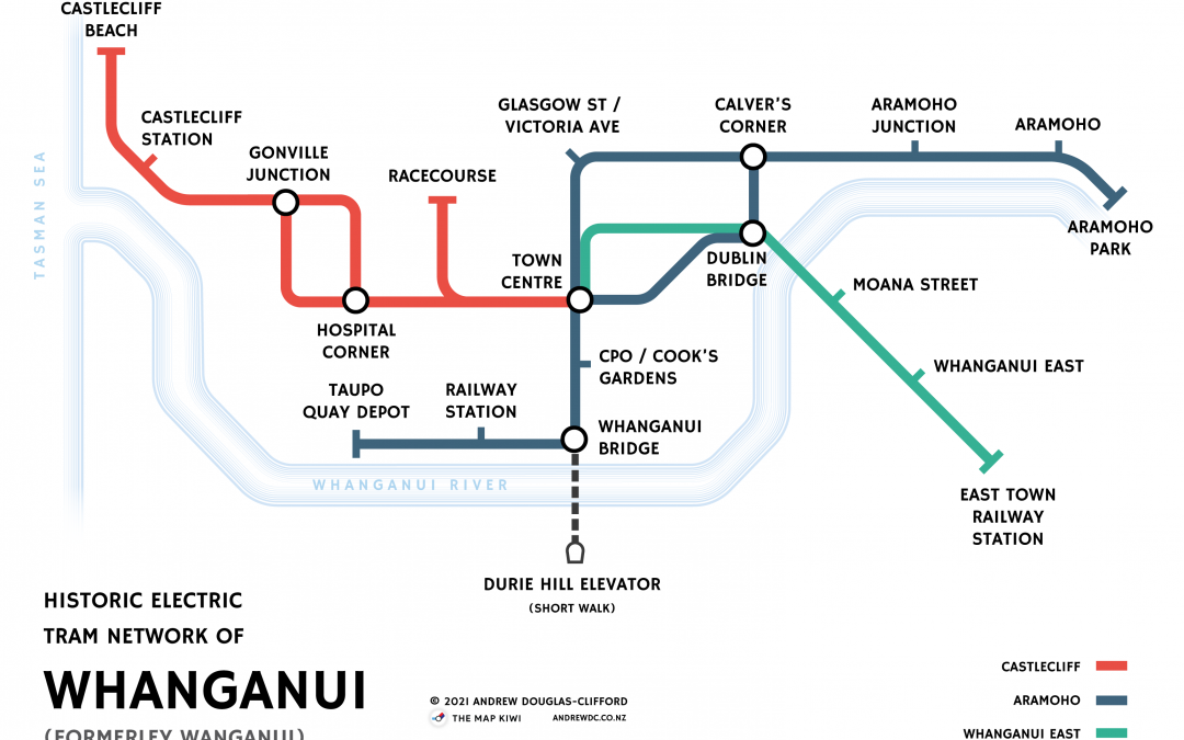 Historical Tram Route Maps